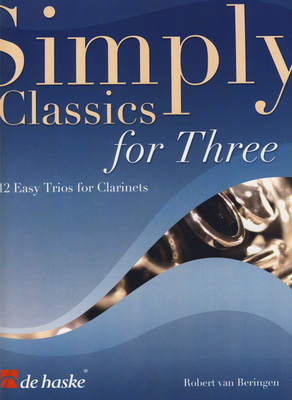 De Haske Simply Classics Three Clarinet