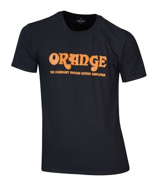 Orange T-Shirt Orange Logo XL