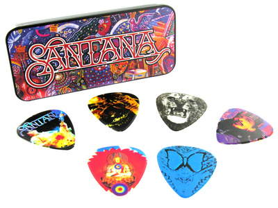 Dunlop Santana Pick Set H
