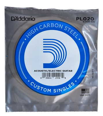 Daddario PL020 Single String