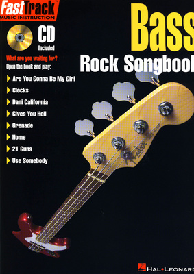 Hal Leonard FastTrack Bass Rock Songbook