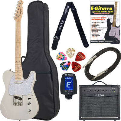 Harley Benton TE-30 BE Bundle 1