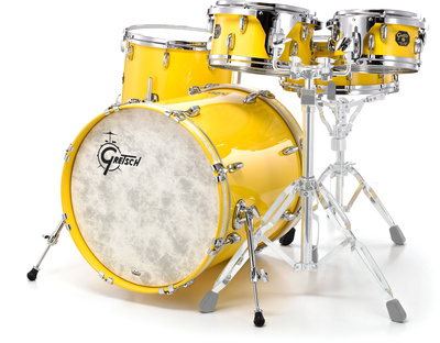 Gretsch USA Custom Fusion-Solid Yellow