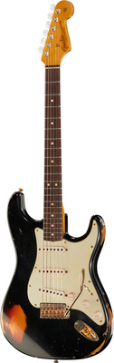 Fender 63 Stratocaster Relic BLK o SB