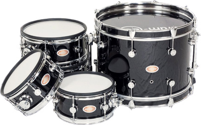 drum-tec Diabolo Meshead Set - black